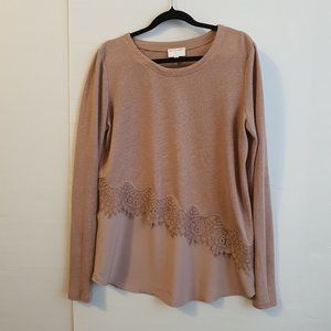 Witchery Linen Top - Size 10/12